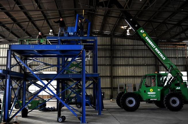 Momentum's Colorado Glass Recycling Facility Under Construction